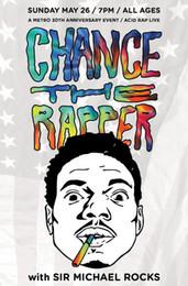 cc51941b21ea Chance the Rapper Acid Rap Fabric poster 36