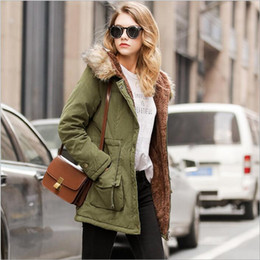 Wholesale Wholesale Down Coats - Women's Cotton Padded Jackets Winter Down Coats Fashion Down Parkas Plus Size Outdoor Outerwear Casual Slim Hoodies Jumper Pullover B2838