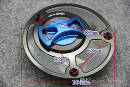 Wholesale R1 Gas Cap - Free shipping CNC Aluminum Motorcycle Fuel Tank Cover Oil can Cap Scooter Accessories Fuel Gas Cap For Yamaha FZ-1 FZ6 YZF-R1 R6