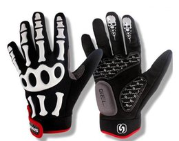 Wholesale Ghost Race - Sport Gloves Cycling Glove Men And Women Joint Skull Ghost Claw Bicycle Gloves Racing Glove 133