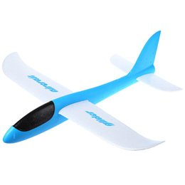 Wholesale Diy Model Glider - Wholesale-2016 HOT Sale DIY Funny Lightweight Foam Airplane Hand Throwing Glider Model Plane Great Children Toys Educational Gift