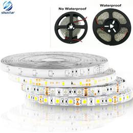 Wholesale Led Tape 3528 Waterproof - Hot sale 5M 300Leds waterproof RGB Led Strip Light 5630 3528 5050 DC12V 60Leds M Fiexble Light Led Ribbon Tape Home Decoration Lamp