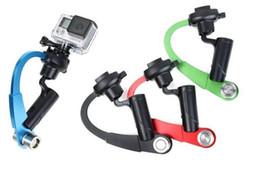 Wholesale Steady Stabilizer - Bow Style Handheld Stabilizer Steady Steadicam Bow Shape Tripod for Action Camera Hero 5 4 3+ 3 2 1 Sj4000 Xiaomi Yi