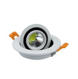 Wholesale Downlight Cob 5w - New Arrival 5W 7W 9W 20W COB led Recessed downlight AC85-265V LED Spot light led ceiling lamp with drive free shipping