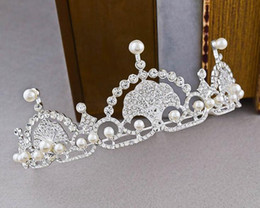 Wholesale Simple Crown Wedding - The bride crown hair British royal star with Europe and the United States wind simple dress accessories