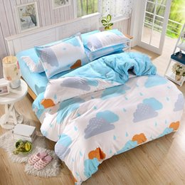 Wholesale Kids Twin Bedroom Sets - Wholesale- New Cotton Bedding Set Duvet Cover Sets Bed Sheet European Style Adults Kids Bedroom Sets Queen Full Twin Size Bedlinen
