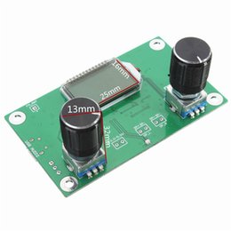 Wholesale Frequency Module - Wholesale-2016 DSP PLL Digital Stereo FM Radio Receiver Module 87-108MHz With Serial Control Frequency Range 50Hz-18KHz