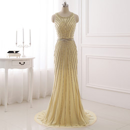 Wholesale Maternity Party Bridesmaid Formal Dress - Real Photo LX353 Formal Evening Gowns Dresses Sparkly Prom Dresses See Through Tulle Designer Gowns Party Robe De Soiree Sirene