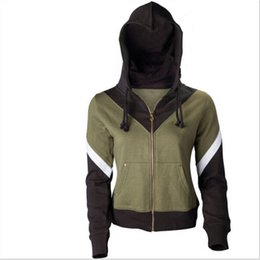 Wholesale Christmas Coats For Men - costume knickers The Legend of Zelda Link Hoodie Zipper Coat Jacket Hooded Sweater Cosplay Costume For Men Women