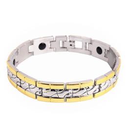 2019 sport magnetischen armband Neues Design Healing Magnetic Armband für Frauen Männer Mode Germanium Element Sport Energie Armband Armband Großhandel günstig sport magnetischen armband