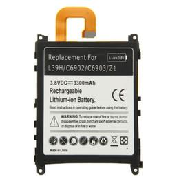 Telefone xperia z1 on-line-Alta Qualidade 1 Pcs Recarregável Batteria de Lítio-ion Do Telefone Móvel Para Sony Xperia Z1 L39H C6902 C6903 Bateria 3.8 V 3300 mAh