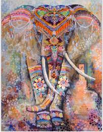 Wholesale Elephants Wall Decor - Indian Elephant Mandala Tapestry Hippie Wall Hanging Tapestries Beach Throw Towel Yoga Mat Bedspread Home Decor 130*150cm Free Shipping