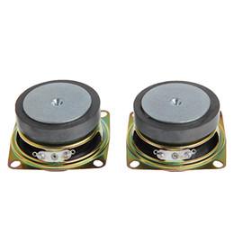 """Alto-falantes do woofer on-line-Atacado-2pcs 2 """"polegadas 53 milímetros 4Ohm 3W Full Range Áudio Speaker Stereo Woofer Altifalante Novo"""