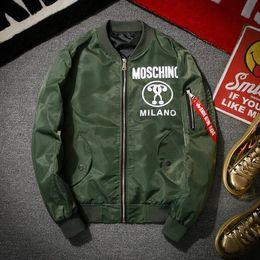 Wholesale Mens Suits Sport Coats - Latest designer winter mens jackets coats MA1 Bomber jacket fashion jackets Sport Suit Parkas mens hip hop coats streetwea free shipping