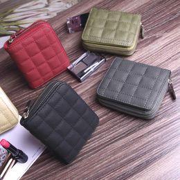 Wholesale Cute Korean Cards - 2017 Korean version mini wallet lady short paragraph zipper cute pocket purse student embroidery wallet