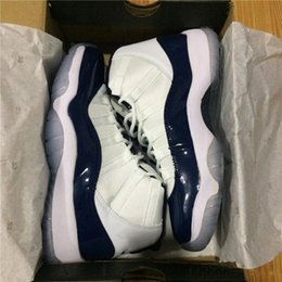 Wholesale Golf Cut - With Box Retro 11 Spaces Jams high cut bred night blue Basketball Shoes for Men Women Airs 11s Athletic Sport Sneakers Velvet Heiress