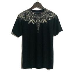 Wholesale Shirts Cross Print - Fashion Milan MB Marcelo Burlon Brand Clothing T shirt Men Women High Quality 1:1 Cotton O-neck Harajuku Cross Tee shirts Homme