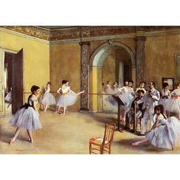 Canada Dance Class at the Opera de Edgar Degas Peinture à l'huile moderne art de haute qualité peint à la main cheap class arts Offre