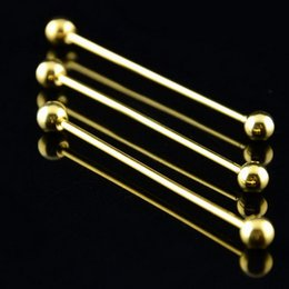 Wholesale Wholesale Collar Clips - 50pcs Tie Clip Gold   Silver Slim Collar Pin Stainless Steel Tie Bar Wedding Metal Tie Clips For Men Gift 6.5cm PC046 T0.05