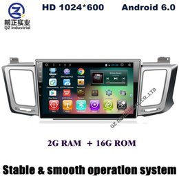 Wholesale Toyota Rav4 Dvd Player Gps - 2G+16G 10.1inch android 6.0 car dvd for Toyota RAV4 with swc BT GPS map Radio RDS DAB+ Mirror link