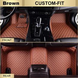 Wholesale Front Door Floor Mats - SCOT All Weather Leather C ar Floor Mats for Ford F-150 2-Doors Waterproof Anti-slip 3D Front & Rear Carpet Custom-Fit Left-Hand-Driver-Mode