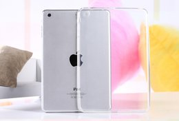 Wholesale case ipad tpu gel - Wholesale-Hot Top Quality Crystal Clear Transparent TPU Silicone Rubber Skin Gel Case for Ipad 2 3 4 Jelly Case Cover