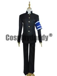 Anime menino uniforme on-line-Caixa de Medaka Cosplay Misogi Kumagawa Costume School Boy Uniforme H008