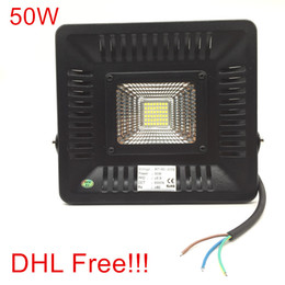Wholesale Led Projector Reflector - 10pcs LED Flood Light 50W Reflector Led Flood Light Spotlight AC 220V 230V 240V Waterproof Outdoor Wall Lamp Projectors
