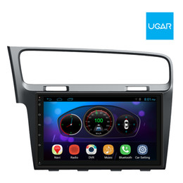 Wholesale Chinese Amplifiers - 10.2 inch Volkswagen VW New Golf 7 2014-16 Quad Core 1024*600 Android Car GPS Navigation Multimedia Player Radio Wifi