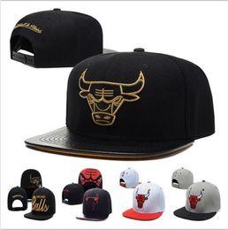 Wholesale Bulls Balls - Top Quality wholesale New Brand Hip Hop Bulls Gorras Snapback Fashion Adjustable Basketball Baseball Cap Hat Bones Chicago Free Shipping