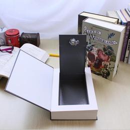 Wholesale Hidden Lock Boxes Books - Home Decoration Pride and Prejudice Book Metal Cash Secure Hidden Booksafes Money Box Coin Books Safe Secret Key Lock Piggy Bank Kids Gifts