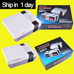 Wholesale Dual Video Game - Retro Mini TV Handheld Game Console Video Game Console For Nes Games Built-in 620 500 600 Different Games PAL&NTSC dual gamepad pad OTH002