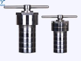 Reattore di sintesi idrotermale rivestito in teflon da 30ml con involucro in acciaio inossidabile, reattore di sintesi idrotermale con rivestimento in PTFE da motore di generatore di potenza fornitori