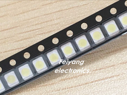 Wholesale Led For Lcd Backlight - Wholesale- 100PCS Original and new For LG LED Backlight 1210 3528 2835 1W 100LM Cool white LCD Backlight for TV TV Application