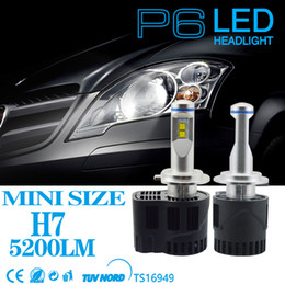Wholesale Led H11 55w - 55W 5200LM Car LED Headlight For bmw vw honda toyota jeep wrangle Headlamp H7 H11 HB3 HB4 led replacement bulbs