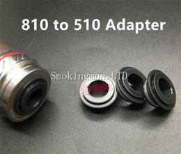 Wholesale drip tip adapters - Hot sale POM TFV8 810 to 510 Adapter for TFV8 drip tip Tank Connector Adapter E Cigarette tfv12 TFV8 Drip Tips Adapter