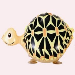 Wholesale Tortoise Supplies - Tortoise Walking Balloon Decoration Decorative Aluminum Foil Balloons Animal Christmas Wedding Party Pet Inflatable Hydrogen Helium Walk