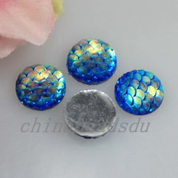 Wholesale Acrylic Button Assorted - Bulk Wholesale Assorted 100Pcs 11MM Resin Round Flatback Crystal Button Shinny Rainbow Squama Charms for DIY Bracelet Necklace Jewelry