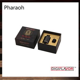 Wholesale Digiflavor Pharaoh Dripper Tank A Rip Project Spring Loaded Clamps Triple Bottom Airflow Holes Direct to Coils Original
