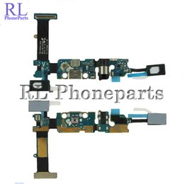 Wholesale Galaxy Note Flex Cable - 10Pcs lot Charger Charging Dock Port For Samsung Galaxy Note 5 N920A N920T N920P N920V Sensor Keypad Home + Audio Jack Flex Cable Ribbon