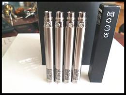 эго-c Twist батарея для электронной сигареты переменное напряжение 3.2-4.8 V 1100mah для всех серий эго комплект электронной сигареты воск сухой травы стеклянный резервуар от Поставщики эго с твист сухой