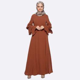 Wholesale Islamic Women Pictures - 2017 New Abaya Clothes Turkey Arab Garment Turkish robe Muslim Women Maxi Dress Pictures Islamic Dubai Kaftan Vestido Longo giyim Clothing
