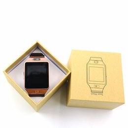 Wholesale record iphone calls - DZ09 Smart Watch GT08 U8 Wrisbrand Android iPhone iwatch Smart SIM Intelligent mobile phone watch can record the sleep state Smart watch