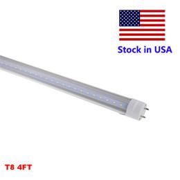 Tubo di 1,2 mt8 g13 online-4FT T8 LED Tube Daylight T8 G13 4Feet 4 FT La luce del tubo sostituisce la lampada fluorescente 120CM 3 anni di garanzia