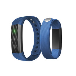 Wholesale ID115 Lite Smart Band Sports Waterproof Passometer Wristband With Touch ID115Lite Screen Bracelet For IOS Android Pk Miband Fit Bit