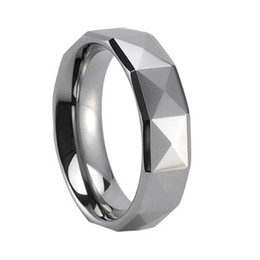 Wholesale Unique Tungsten Rings - Shardon high quality unique style prismatic tungsten carbide couple rings for Christmas gift have in stock