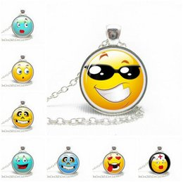 Wholesale Mixed Rhinestone Gems - High quality Explosive expression time gem glass pendant necklace jewelry WFN330 (with chain) mix order 20 pieces a lot