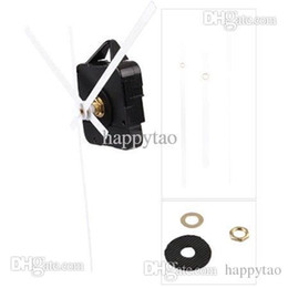 Wholesale Hands Quartz Clock Movement Kit - Quartz Clock Movement Mechanism White Hands DIY Repair Parts Kit