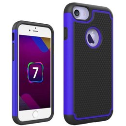 Wholesale Hot Hard Cover Case - 2017 New Hot For iphone 7 Armor Case Heavy Duty Impact Heavy Duty Silicone Hard Protective Case for iphone 7 Case Cover Fundas 7G