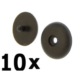 Wholesale Belt Fasteners - 10 x POM Nylon Seat Belt Buckle Stopper Retainer Fasteners Stop Buttons For Lada Opel Renault Corolla